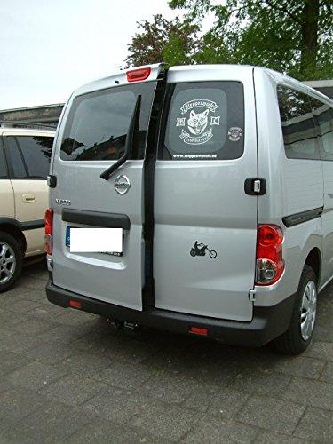Lufty® - Nissan - NV200 - Heckaufsteller - Heckbelüftung (Gr.M, manuelle Schliessung, Heckklappe, Standard)
