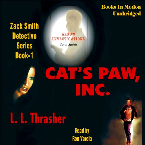 Cat's Paw, Inc. audiobook cover art