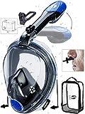 SeaELF Full Face Snorkel Mask 2020 Upgrade Ear Pressure Equalization Foldable Freebreath No Fogging Scuba...