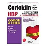 Best Cough suppressants - Coricidin HBP Cough and Cold Tablets-16 ct. Review
