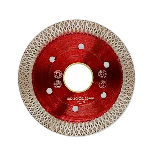 ZhuJinSheng Cutting Disk 1Pc 3in/85mm Wave Style Diamantzaagblad voor Porselein Tegel Keramisch Droog Snijden Agressieve schijf Marble Granite Stone Saw Blade