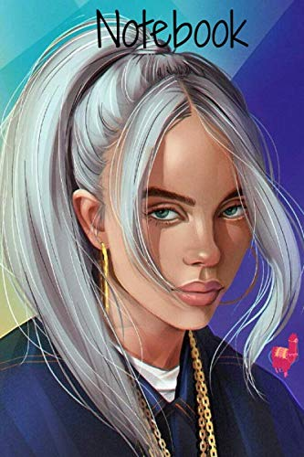 NOTEBOOK: Billie Eilish journals For Pirate Baird O'Connell lovers. Awesome for school diary writing your favorite lyrics and gifts.