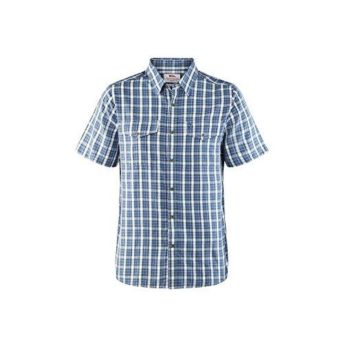 Fjällräven Abisko Cool Shirt Ss - Herren  Kurzarmhemd,blau (uncle blue 520), L