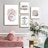 Blume Parfüm Mode Zitate GemäLde Make Up Kunstwerk Poster