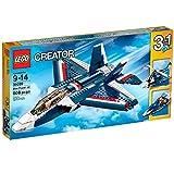 LEGO - 31039 - Creator - Jeu de Construction - L'Avion Bleu