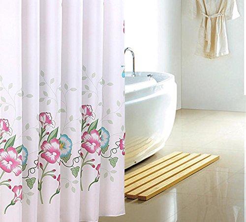 Douchegordijnen Polyester 3D Vlinder Dikke Mold Waterdichte Badkamer Gordijn Barrier Gordijnen Multi-size, met haken