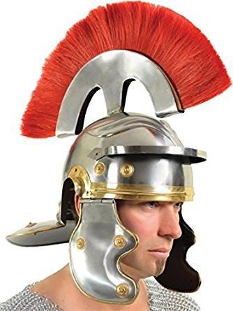 THORINSTRUMENTS (with device) Medieval Roman Helmet Centurion Gallic Helmet Knight Spartan Armour Helmet