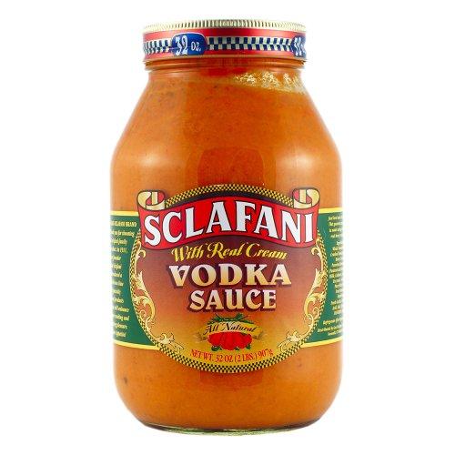 Gus Sclafani Fine Italian Imports Vodka Sauce Quart Jar (6 Pack)