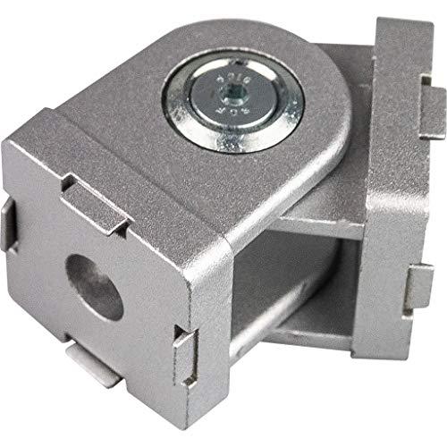 Einstellbarer Winkelverbinder Winkel Gelenk 3030 30x30 für Aluminium Konstruktionsprofile Systemprofile