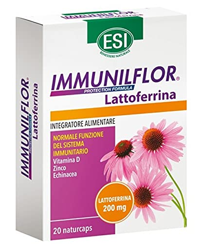 Esi Immunilflor Lattoferrina 200mg 20 Capsule | Integratore Alimentare Difese Immunitarie Con...