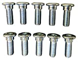Qty 10 Compatible with Honda Disc Rear Brake Rotor Bolt 1999-08 TRX 400EX Sportrax 90105-MK5-010