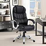 Healthy Relaxing Comfortable Executive Ergonomic Massage Chair Vibrating Support Headrest Armrest High Back, Relax Home, Office, Computer Desk Chair