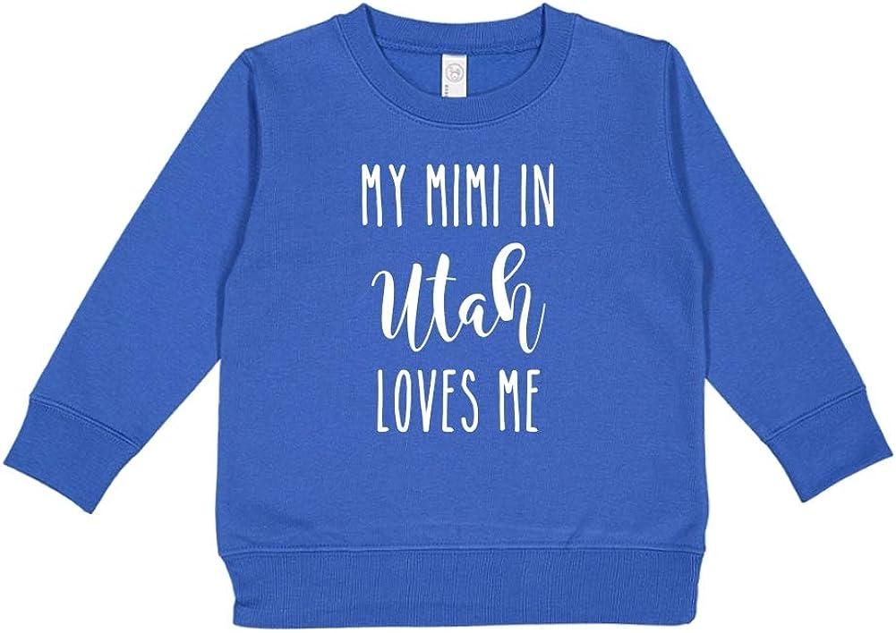 My Mimi in Utah Loves Me Toddler//Kids Sweatshirt