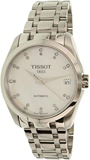 Tissot Women's White Dial Stainless Steel Band Watch - T035.207.11.116.00