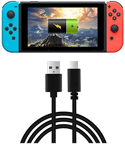 OSTENT 3m USB Typ-C Ladegerät Ladekabel Datenkabel für Nintendo Switch Controller