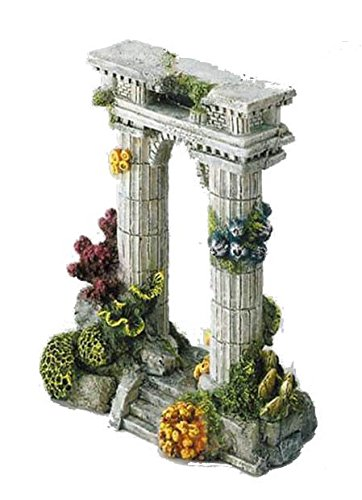 Europet Bernina 234-105184 Decor-'Atlantis-Riddle' 15.5 x 9.5 x 21 cm