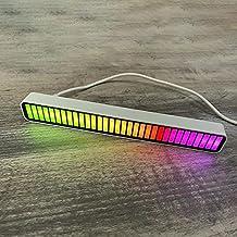 SOLE HOME RGB Controle de Som De Música de Nível Luzes 32 Bit Carro Casa Espectro Música Carro USB Áudio Ritmo Luz da Luz ...