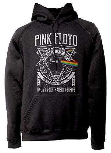 LaMAGLIERIA Sudadera Unisex - Pink Floyd - PF0001 - Sudadera con Capuc