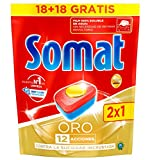 Somat Prodotti per Lavare le Stoviglie - Detersivo per Lavastoviglie - 125 ml