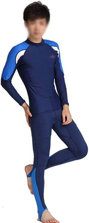 KERVINFENDRIYUN Paar Outdoor-Tauchen Split langrmeligen Tauchanzug Badeanzug Surfen Sonnencreme Qualle Schnorcheln Anzug