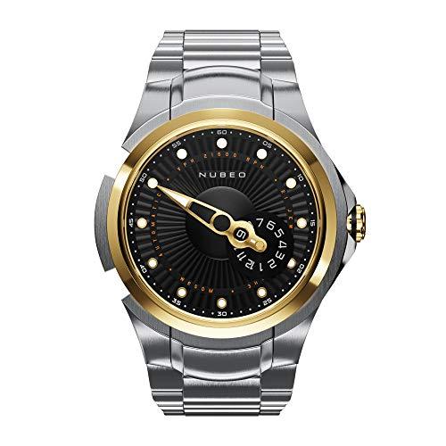 NUBEO Reloj automático para hombre Satellite 2.0 Limited | Reloj de hombre | Automático | Dorado