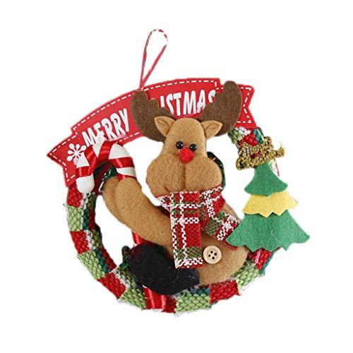Jia He Decorazione Ghirlanda di Natale, Decorazioni Natalizie, Centro Commerciale Negozi, Ornamenti dell'albero di Natale, i Pendenti, 4 Categorie ## (Color : A)