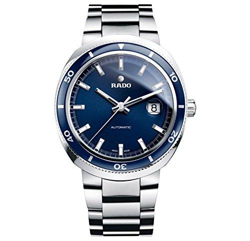 Rado D Star Blue Dial Stainless Steel Mens Watch R15960203