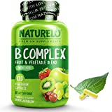 Best B Vitamins - NATURELO B Complex - Whole Food Complex Review