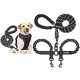 tobeDRI Dog Harness and Dog Leash Set + Dual Dog Leash