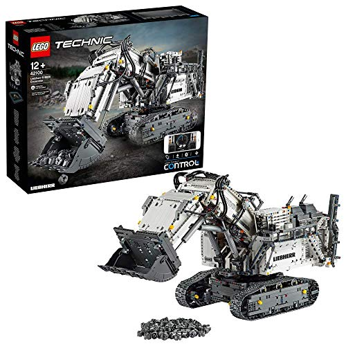 LEGO - Technic Power Functions Escavatore Liebherr R 9800 Set di Costruzione, 42100