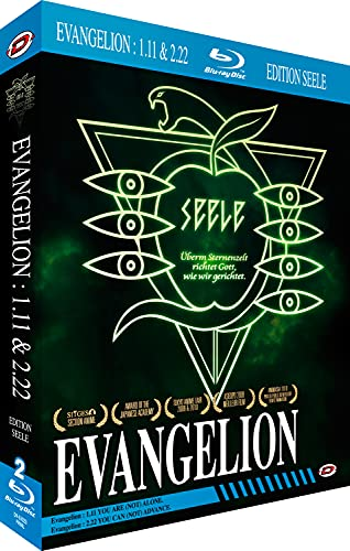 Evangelion 1.01 You Are (Not) Alone + Evangelion 2.22 You Can (Not) Advance [Blu-ray]