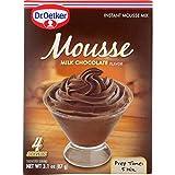 Dr. Oetker Organics Mousse Mix - Supreme - Instant - Milk Chocolate - 3.1 oz - case of 12 - - - - -...