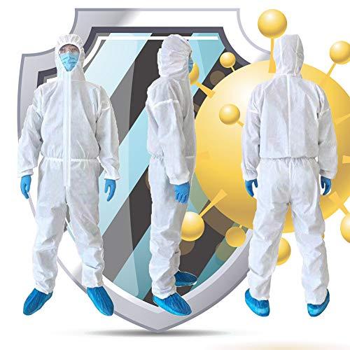 MMY isolatiekleding, hoge antibacteriële kleding, herbruikbare beschermende kleding, stofdichte speciale kleding, antistatisch, polypropyleen Epidemie Coveralls