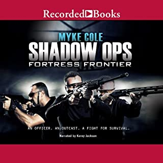 Shadow Ops: Fortress Frontier audiobook cover art
