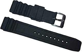 Italian Rubber Band Watch Strap for Luminox 22mm 3000 3100 3200 3400 3600 8400 8800 Navy Seal Evo Colormark