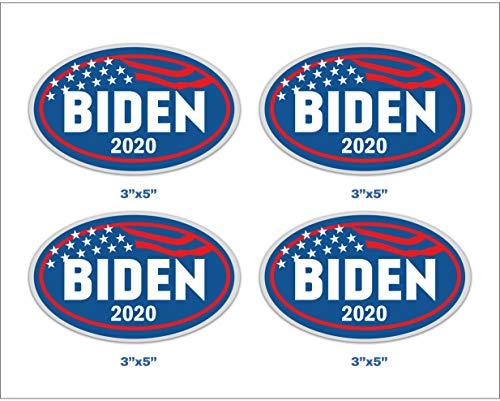 Magnetic Bumper Sticker Oval 5.5x3.5 work house signs Car Magnet Joe Biden for President 2020