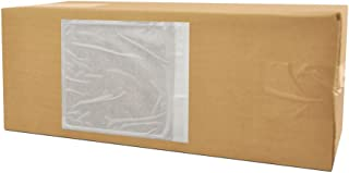 4.5x5.5 Packing Slip Envelope Pouches, Mailing Bag Sleeves, Clear White, 4.5 x 5.5 inch, Self Adhesive, 1000 Pack