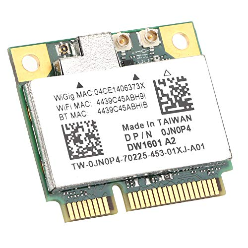 Tarjeta de Red, Half Mini Wireless Card WiGig 802.11ad, Suministros de computadora de Gama Alta para Juegos compatibles con Windows 7 / Windows 8, para Bluetooth4.0 Tarjeta de Red QCA9005 DW1601