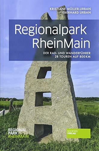Regionalpark RheinMain - Der Rad- und Wanderführer mit 28 Routen auf 800 Km in und um Frankfurt. Mit Übersichtskarten, Einkehrmöglichkeiten und vielen Bildern.