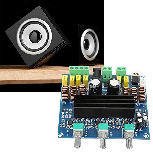 TPA3116D2-versterkerplatine, Jadpes TPA3116D2 2 * 80W + 100W 2,1-kanaals digitale subwoofer-versterkerplaat voor Audio Diy Repair-onderdelen - eenvoudige installatie