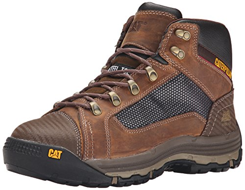 3 Caterpillar Men's Convex Mid Steel Toe Work Boot
