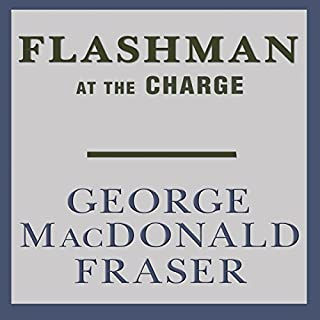 Flashman at the Charge audiobook cover art