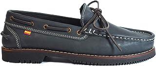Zapatos náuticos Tipo Apache Unisex La Valenciana Olivenza Azul