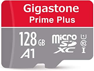 Gigastone Micro SD Card 128GB マイクロSDカード フルHD UHS-I A1 U1 95MB/S Full HD 動画対応 SDアダプタ付 w/adapter