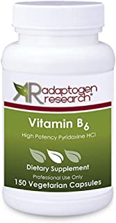 Vitamin B6 | High Potency Pyridoxine HCL | B-6-250 mg | Supports Energy Production, Metabolism and Normal Nervous System F...
