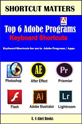 Top 6 Adobe Keyboard Shortcuts (Shortcut Matters Book 29) (English Edition)
