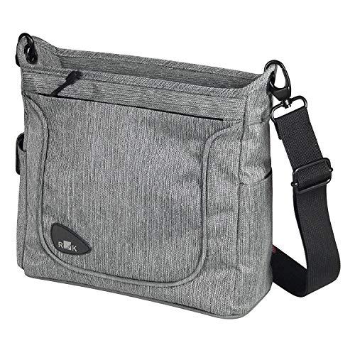 KlickFix Allegra Fashion Stuurtas, Grey, 4 Liter