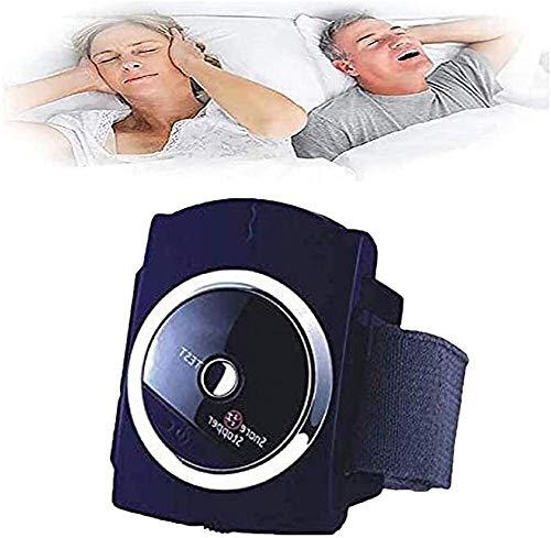 Tapón del ronquido Pulsera Anti ronquido Dispositivo de Pulsera de Dispositivo Inteligente con biosensor Infrarrojos Dormir nervio Ayuda Estimulación La solución a los ronquidos