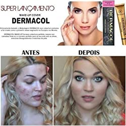 Dermacol Make - Up Cover Waterproof Hypoallergenic SPF 30 # 208 by Dermacol (Cover All Ance Scar and Tattoo) by Dermacol