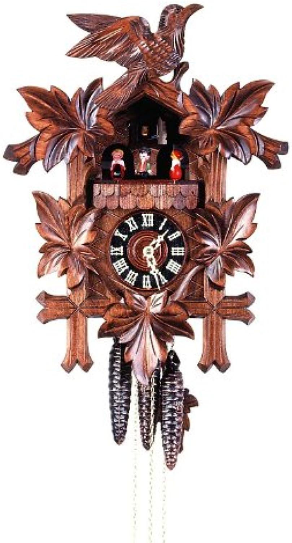 Isdd Cuckoo Clock–Uhr CUCú, Motiv 5follajes, Vogel